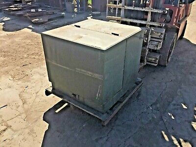 Cooper 100 Kva Oil Filled Pad Mount Transformer Hv 4160 Volts Sec 240120 Volts