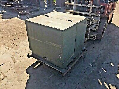Cooper 100 Kva Oil Filled Pad Mount Transformer Hv 4160 Volts Sec 240120 Volts
