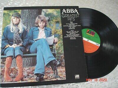 "ABBA  ""ABBA  Greatest Hits Volume 1"" LP  Atlantic – SD 19114"