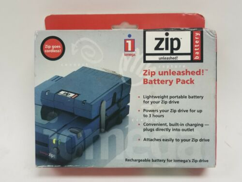 Iomega Zip Unleashed Battery 10322 Rechargeable External Charger