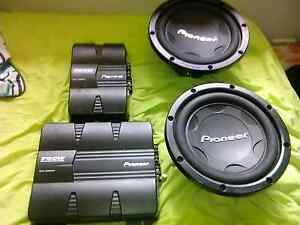 Quick sale car audio need them gone today Green Valley Liverpool Area Preview