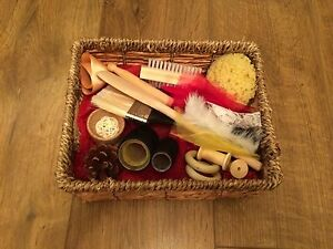 Treasure Basket, Sensory Basket, Baby Toy, New Baby, Christening, Baby Shower