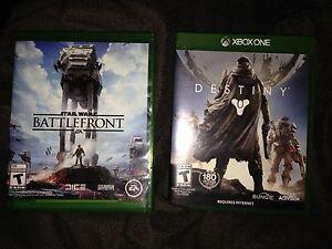 Battlefront et Destiny