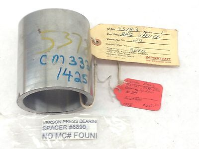 New Verson Allsteel Press 8890 Bearing Spacer 20 Fast Ship B225
