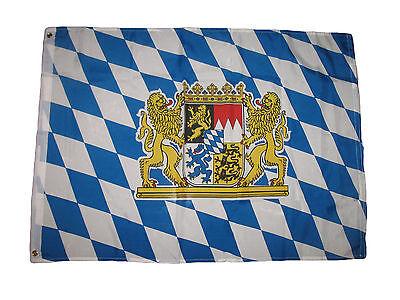 Oktoberfest Banner (2x3 German Bavaria Lion Oktoberfest Bavarian Beer Flag 2'x3' House Banner)