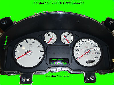2005 FORD Five Hundred Speedometer Instrument Gauge Cluster Repair Service