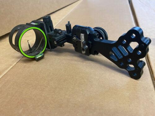 NICE USED Fuse Cybex Slider 5 Pin Quick Adjust Archery Sight - RH