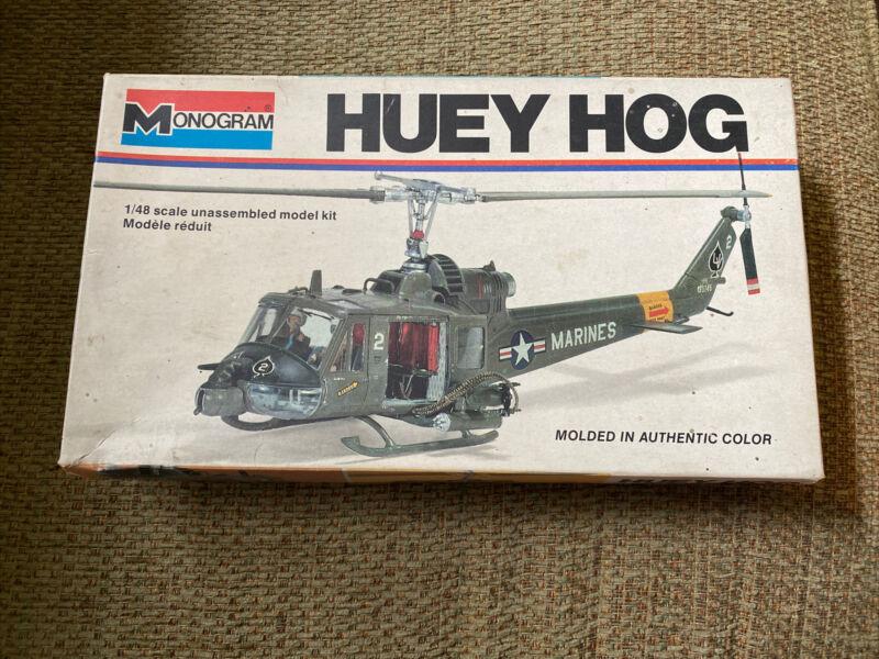 Monogram Huey Hog Vietnam era UH-1 model helicopter 1/48 scale