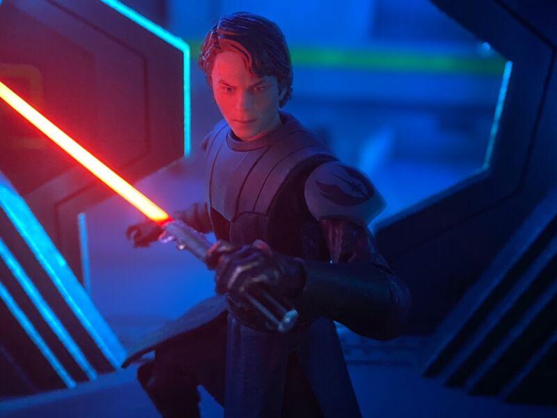 Star Wars Black Series Custom Lightsaber UV Blades Pack Of 6 (Blades Only)
