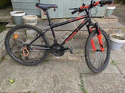 Btwin Rockrider 500 24 Inch Wheel Kids Mountain Bike 8-12 years