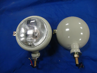 2n 9n 8n Naa 600 601 800 801 900 2000 4000 New Ford Tractor 12v Grey Headlights