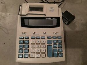Victor 1210-2 Large Print Calculator