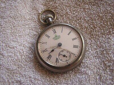 Antique Ingersoll Maple Leaf Dollar Pocket watch