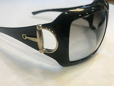 Gucci Womens Black Sunglasses 2562/S D28 60 15 115 Italy