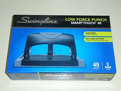 Swingline Smarttouch 45 3-hole Punch 45 Sheet Capacity Same Day Shipping
