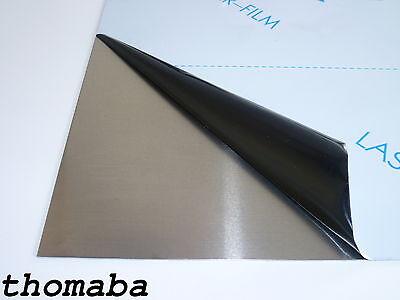 Platte Zuschnitt Tafel Stärke 1,00 - 6,00 mm quadratisch (Tischplatte Tafel)