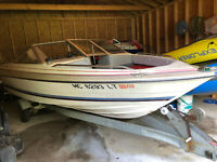 1984 Bayliner Capri Force Outboard Trailer Harbor Beach, MI | No Fees No Reserve