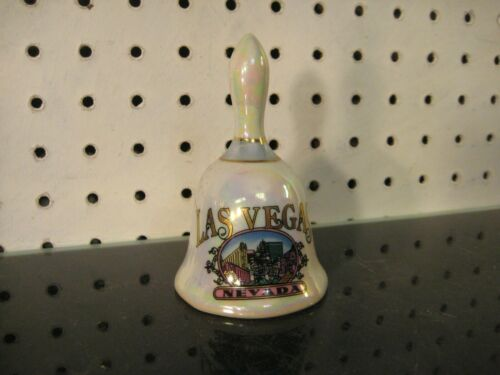 Las Vegas Nevada Souvenir Porcelain Bell