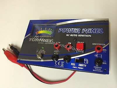 RC Plane/Heli etc - Turnigy Power Panel MkII with Amp Meter & Glow Charger