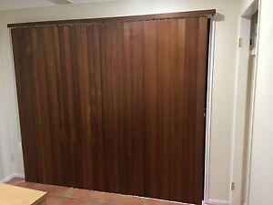 Wooden vertical blind Redland Bay Redland Area Preview
