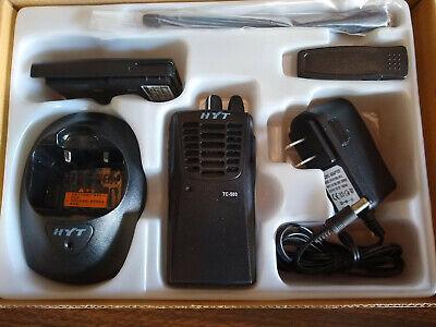 NEW Portable HYT TC-500 UHF 4W 16CH Two-Way Radio