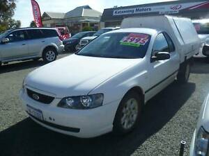 2004 FORD BA FALCON WORKMATE Katanning Pallinup Area Preview