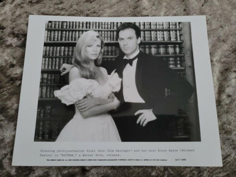 Batman original movie photo  #1 - Michael Keaton, Kim Basinger - 8 x 10