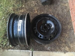 16 inch rims, used only one season. GREAT DEAL