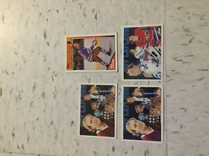 Guy LaFleur hockey cards 91's