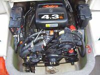 1996 OMC/Volvo Penta 4.3 L 190 HP engine, transom,trim,SX drive drop in ready!
