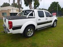 2006 Nissan Navara Ute D40 ST-X 4X4 DUAL-CAB TURBO-DIESEL !! East Rockingham Rockingham Area Preview