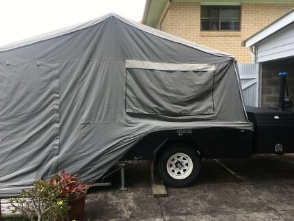 Off road rear folding Camper trailer - hard floor camper Gympie Gympie Area Preview