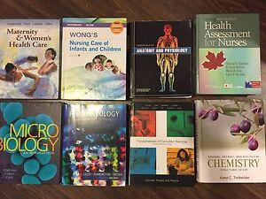 BScN Nursing textbooks- 1st & 2nd year