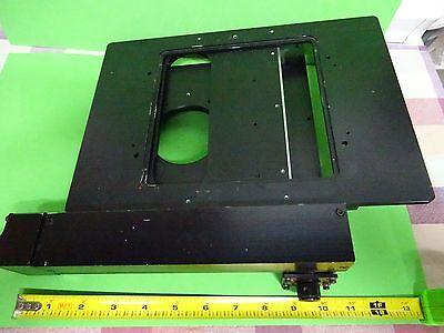 Microscope Part Polyvar Reichert Leica Stage Germany Kinetek Nice As Is Bin60