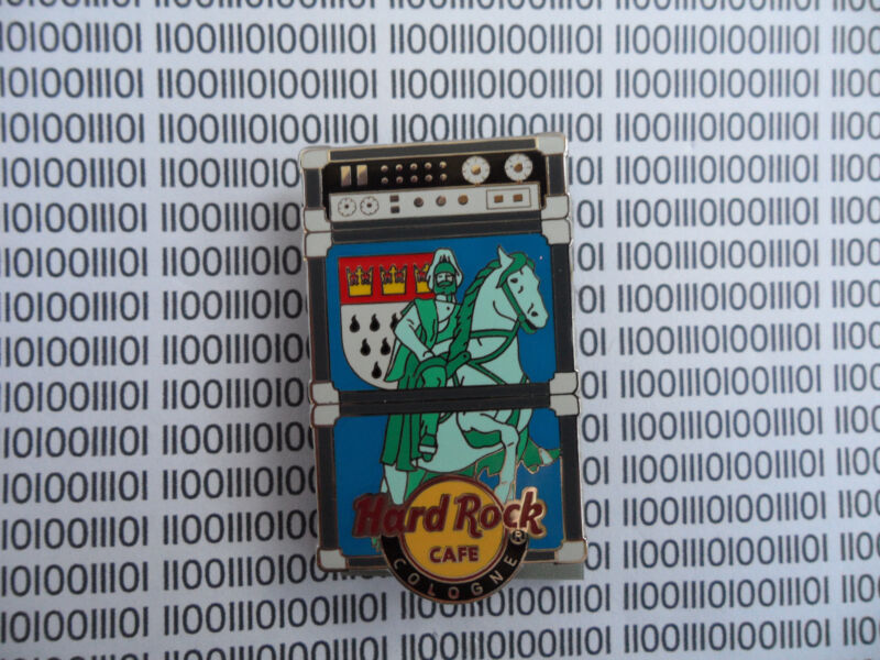 Hard Rock Cafe Cologne 2009 - Amplifier - Limited Edition Worldwide Series Pin