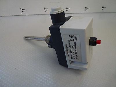 KR 80.208 Boiler thermostat,reflex,85 248°F,Immersion sleeve ca.328 1/12ft