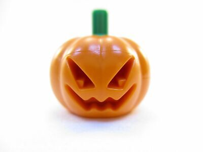 LEGO Orange Minifig Headgear Pumpkin Jack O' Lantern Lot of 1 20695 NEW