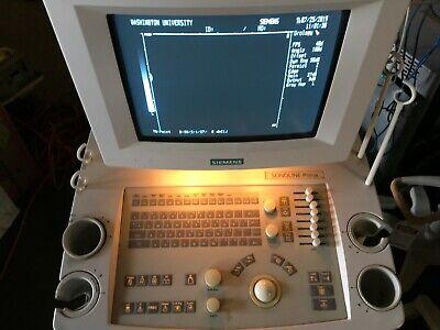Siemens Sonoline Prima Ultrasound System Machine 4900580-lv300