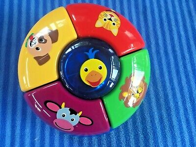 Baby Einstein Discover Play Exersaucer Animal Sounds Toy Replacement Part for sale  Shipping to Canada