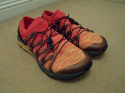 NEW Merrell Bare Access Flex Knit Mens Trainers Shoes Tropical Punch 11.5...