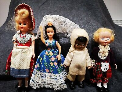 Vintage Dolls Of The World Various