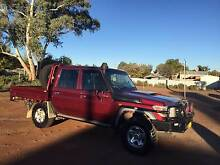 2015 Toyota LandCruiser GXL Military Double Cab Chassis Broken Hill Region Preview