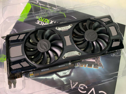 EVGA GeForce GTX 1070 Ti SC GAMING 8GB GDDR5 Graphics Card GPU