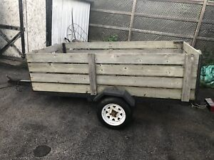 4x8 utility trailer with high sides