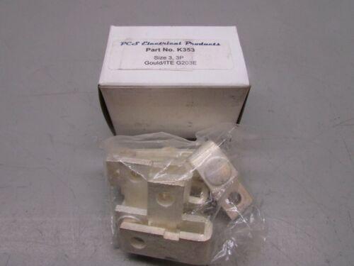 PCS K353 Size 3 Gould/ITE G203E Contact Kit