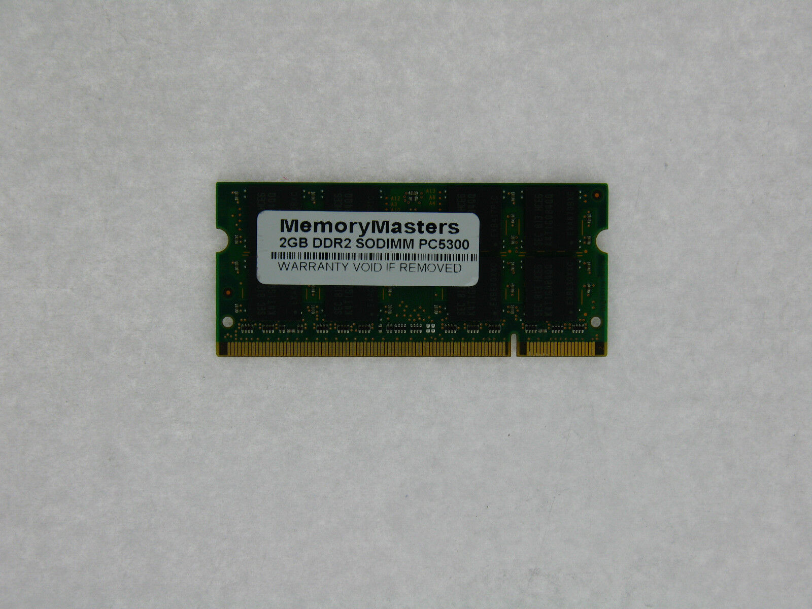2GB DDR2 Laptop Memory for TOSHIBA Satellite L505 L505D-S5983 Notebook PC