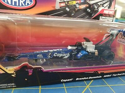 Auto World Sc245 48 Copart Brandon Bernstein Nhra Top Fuel Dragster Slot Car Rtr