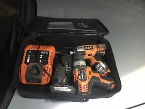 Aeg 12v impact drill and driver set Daceyville Botany Bay Area Preview