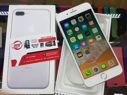 CHRISTMAS SPECIAL IPHONE 7 PLUS 128GB WHITE WITH SHOP WARRANTY