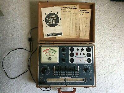 Vintage Superior Tv-12 Tube Tester